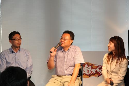 左:宮崎良雄氏、中央:吉田修平氏、磯部洋子氏