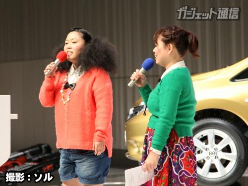 左:江上敬子(ニッチェ)