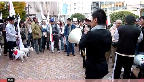 11.14 緊急デモ in 神戸