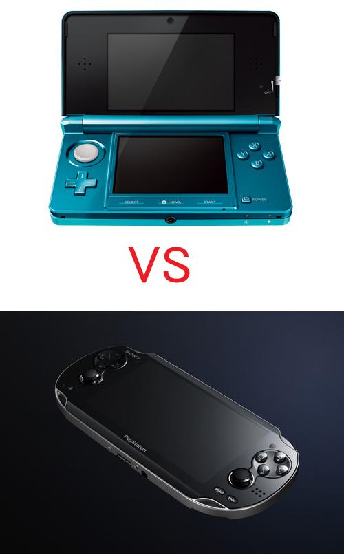 ニンテンドー3DS vs NGP