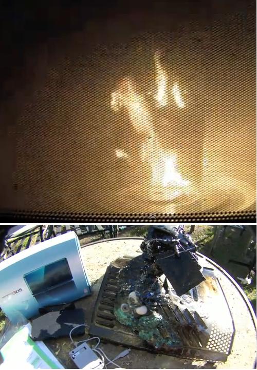 ニンテンドー3DSが発火