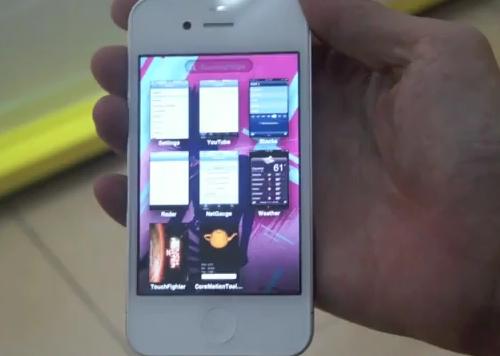 白iPhone 新iOSリーク動画