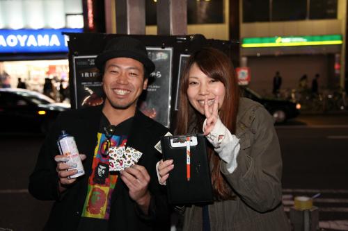 YASUKIさんとMIWAさん