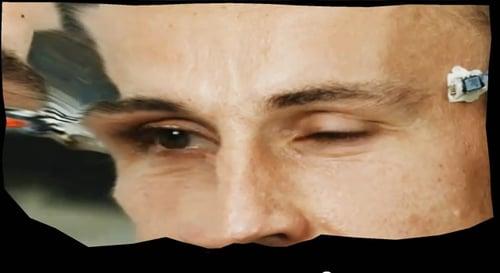 顔のテクスチャ