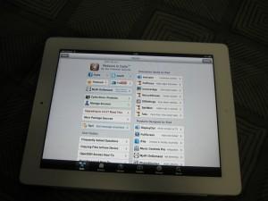 iPad2でCydiaにアクセス