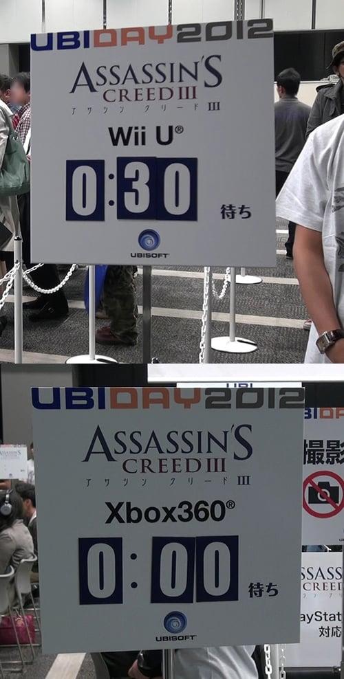 WiiU版に人気が集中