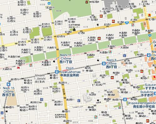 こちらは札幌