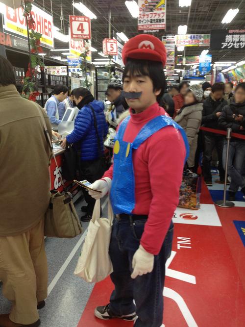 マリオが『PS Vita』を購入?
