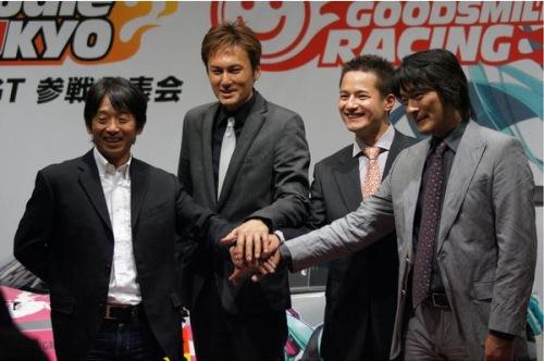 2011年 SUPER GT 参戦発表会
