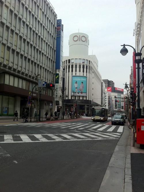渋谷を走る