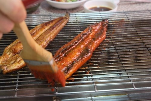 鰻の蒲焼を注文
