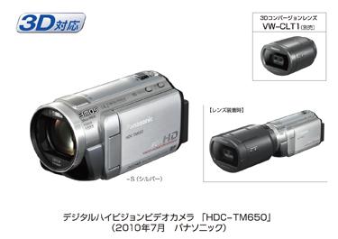 パナソニック『HDC-TM650』