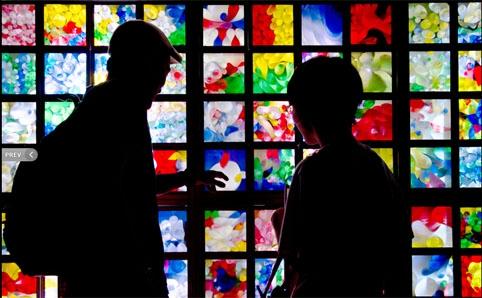 光と音のシンフォニー ライティング・オブジェ 2012
