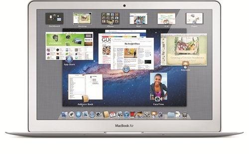 Apple『Mac OS X Lion』 Mission Control画面(画像はAppleより提供)