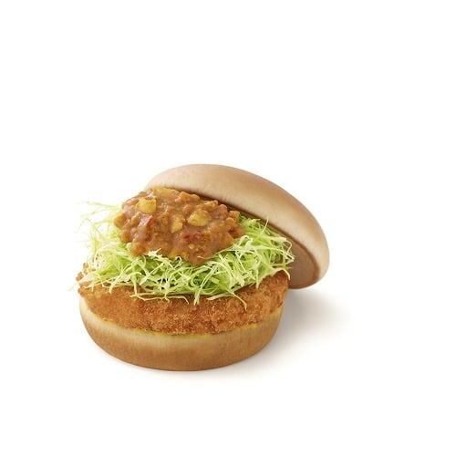 カレーチキンバーガー
