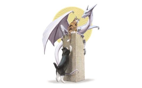 猫とドラゴン展