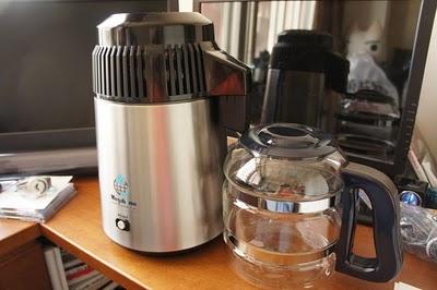 安心な水は自分でつくれ! 家庭用蒸留水器メガホーム社『水瓶座の雫』(MH943)レビュー