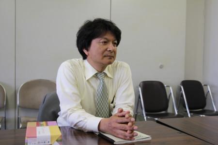 <2012年5月1日河北新報会議室>