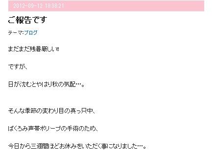 ぱくろみさんブログ