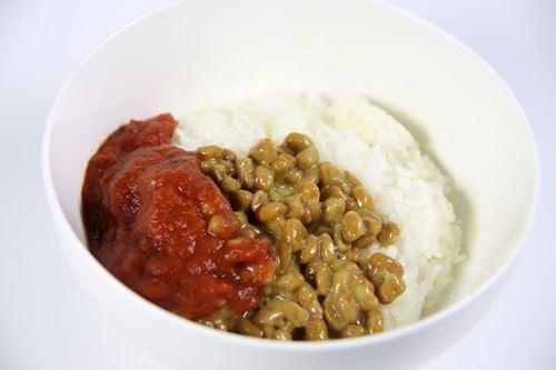 納豆に『かけるトマト』