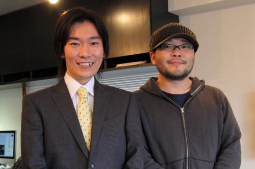 ごとう隼平さん、佐藤秀峰さん