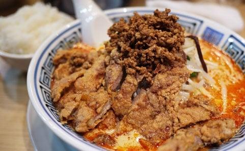 希須林 赤坂『排骨担々麺』