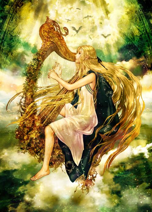 神話の歌い手 サフォーナ