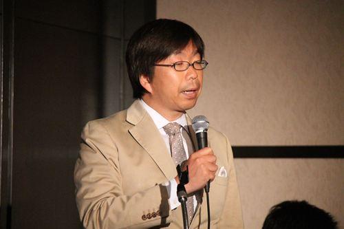 代表取締役社長松下大介氏