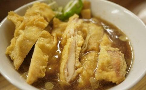 りんすず食堂『鶏天ラーメン』