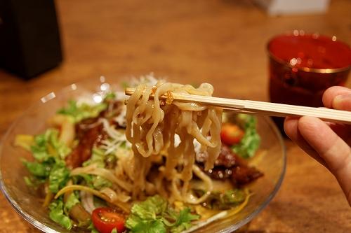 冷やしスタミナ烏龍茶麺 実食