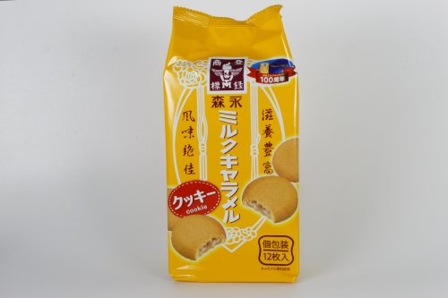 森永ミルクキャラメルクッキー