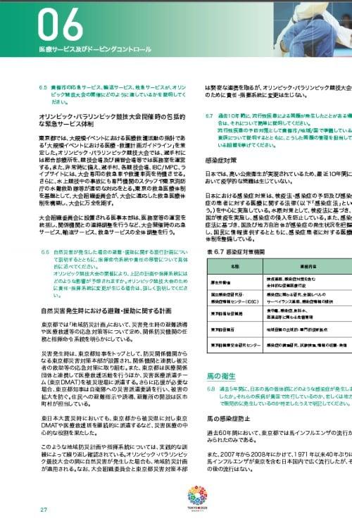 2020年東京オリンピック申請ファイル