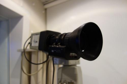 ラジオのスタジオだけどカメラもある