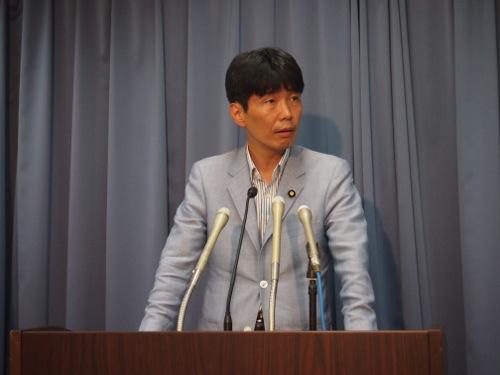 2013年8月8日山本一太大臣会見