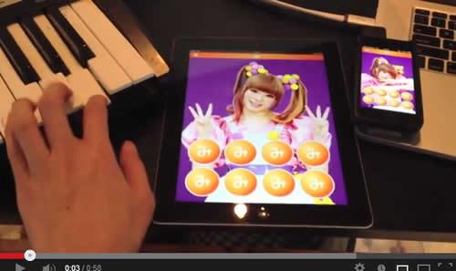 『スーパーマリオ』や『かえるのうた』をきゃりーぱみゅぱみゅの「み」で歌わせる動画 このアプリは何だ?