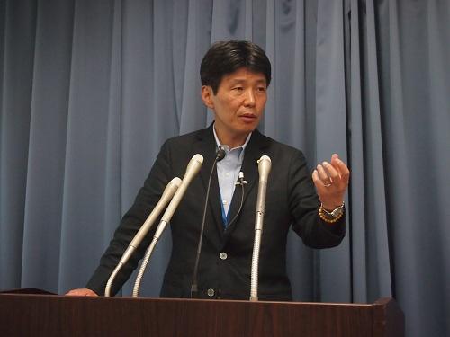 9月3日山本大臣会見