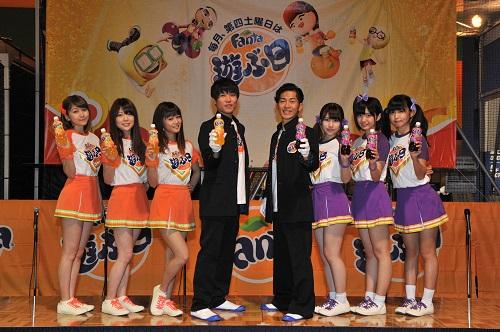 ジャンポケ太田「ファンタになりたい!」 モー娘。OGやバックステージpassと『ファンタ運動会』を応援