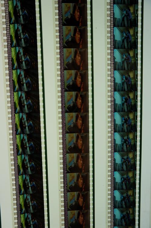 実際のフィルム