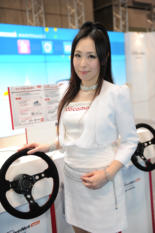 東京モーターショー2013 美人コンパニオン