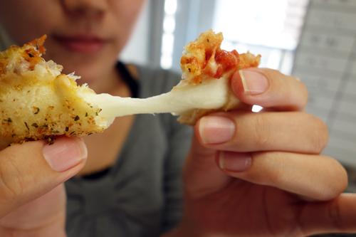 ミミのチーズはモチモチ