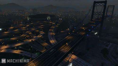 GTA5の世界の1日の流れ