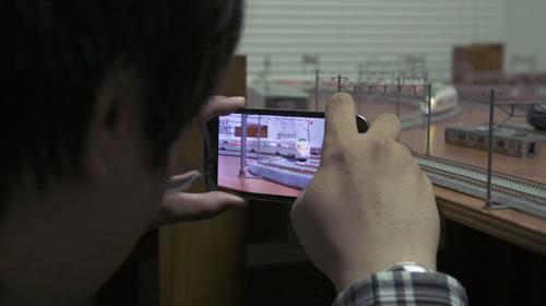 スマートフォンで動画を撮影