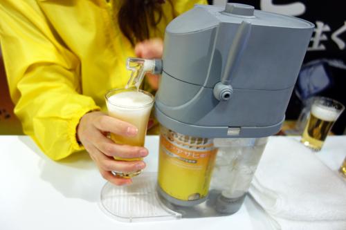 【タカラトミーアーツ商談会】進化しつづける『ビールアワー』 氷点下まで冷やせる『極冷』や本格的な泡の『テーブルビールアワー』発売へ