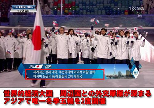 韓国SBSの日本紹介