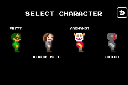 各キャラクターに特性がある