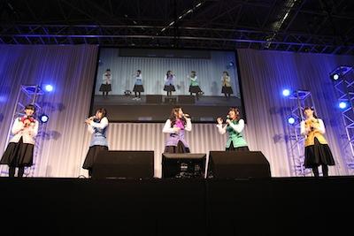 \u201cごちうさ\u201dOPを歌う人気声優ユニット『Petit Rabbits』誕生! AnimeJapan 2014『ご注文はうさぎですか?』ステージレポート