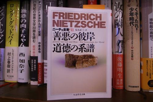 『ニーチェ全集II「善悪の彼岸 道徳の系譜」』