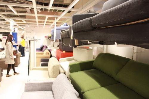 IKEAソファ