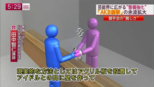 新たな握手会の方法