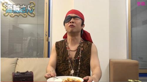 海賊さん「ゴールデンカレー バリ辛」辛い